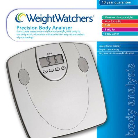 Weight Watchers Body Analyser Scale|33mm Display|5 Fitness Level|10 User Memory| Thumbnail 3