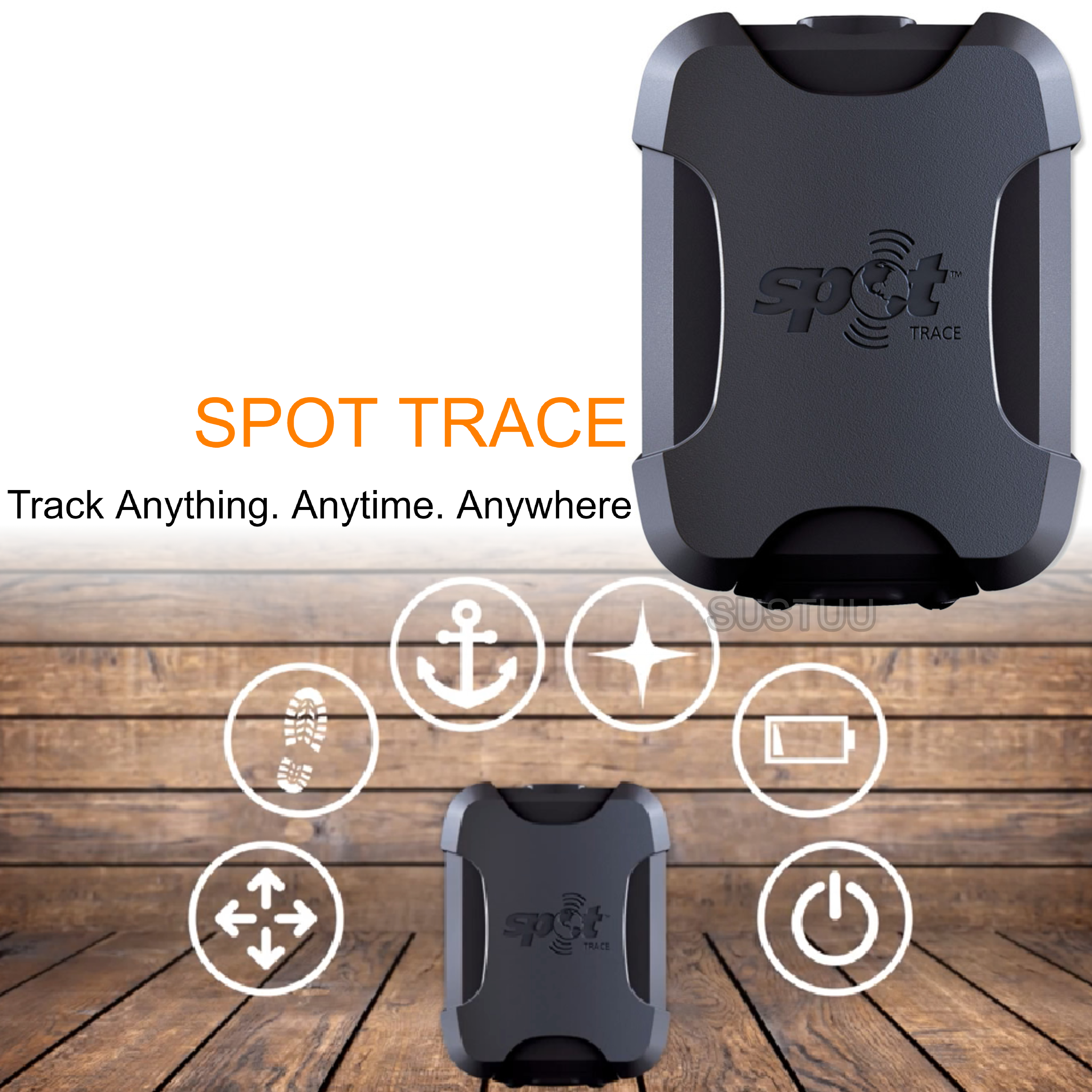 SPOT Trace|Boat Tracking|IPX7Waterproof|Anti Theft System|Asset Locator|Detector