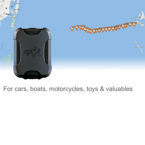 SPOT Trace|Boat Tracking|IPX7Waterproof|Anti Theft System|Asset Locator|Detector Thumbnail 2