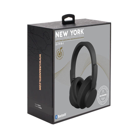 Urbanista 1034402 New York Over-Ear Bluetooth Music Call Headphones -Dark Clown Thumbnail 4