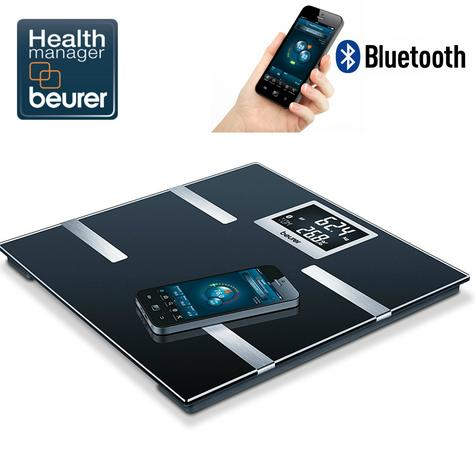 Beurer BF700 Diagnostic Scale|Smart Bluetooth|Health Manager|Digital Black LCD| Thumbnail 1