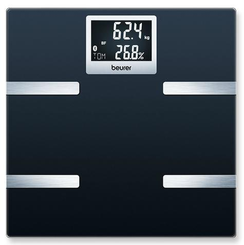 Beurer BF700 Diagnostic Scale|Smart Bluetooth|Health Manager|Digital Black LCD| Thumbnail 2