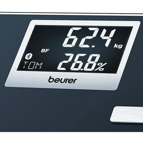 Beurer BF700 Diagnostic Scale|Smart Bluetooth|Health Manager|Digital Black LCD| Thumbnail 3