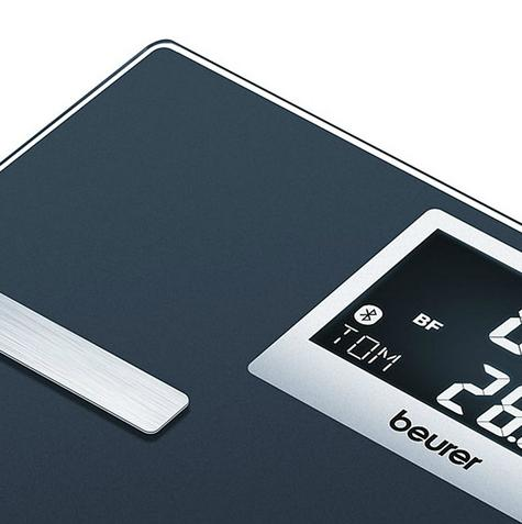 Beurer BF700 Diagnostic Scale|Smart Bluetooth|Health Manager|Digital Black LCD| Thumbnail 4