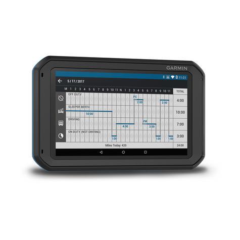 "Garmin Fleet 770 | 7"" GPS Sat Nav | Truck Routing | Lifetime Europe Map Updates | Wi-Fi | Bluetooth Thumbnail 6"