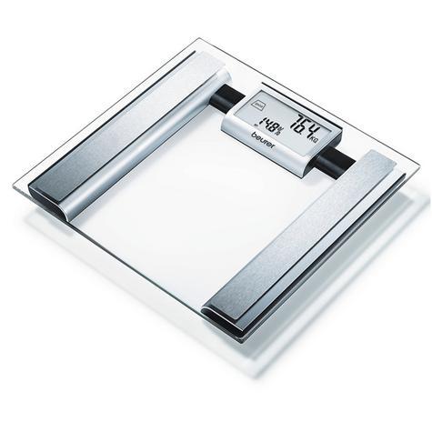 Beurer BG39 Glass Diagnostic Bathroom Scale|Large Digital Display|BMR+AMR|BF|New Thumbnail 5
