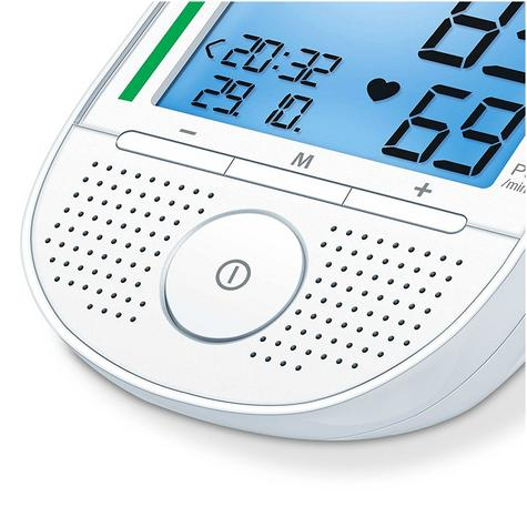 Beurer BM49 Automatic Speaking Blood Pressure Monitor|Speaker|Colour Chart|New| Thumbnail 3