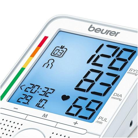 Beurer BM49 Automatic Speaking Blood Pressure Monitor|Speaker|Colour Chart|New| Thumbnail 4