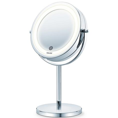 Beurer BS55 Illuminated Swive Vanity Mirror|MakeUp|Shaving|13cm|LED|Touch Sensor Thumbnail 2
