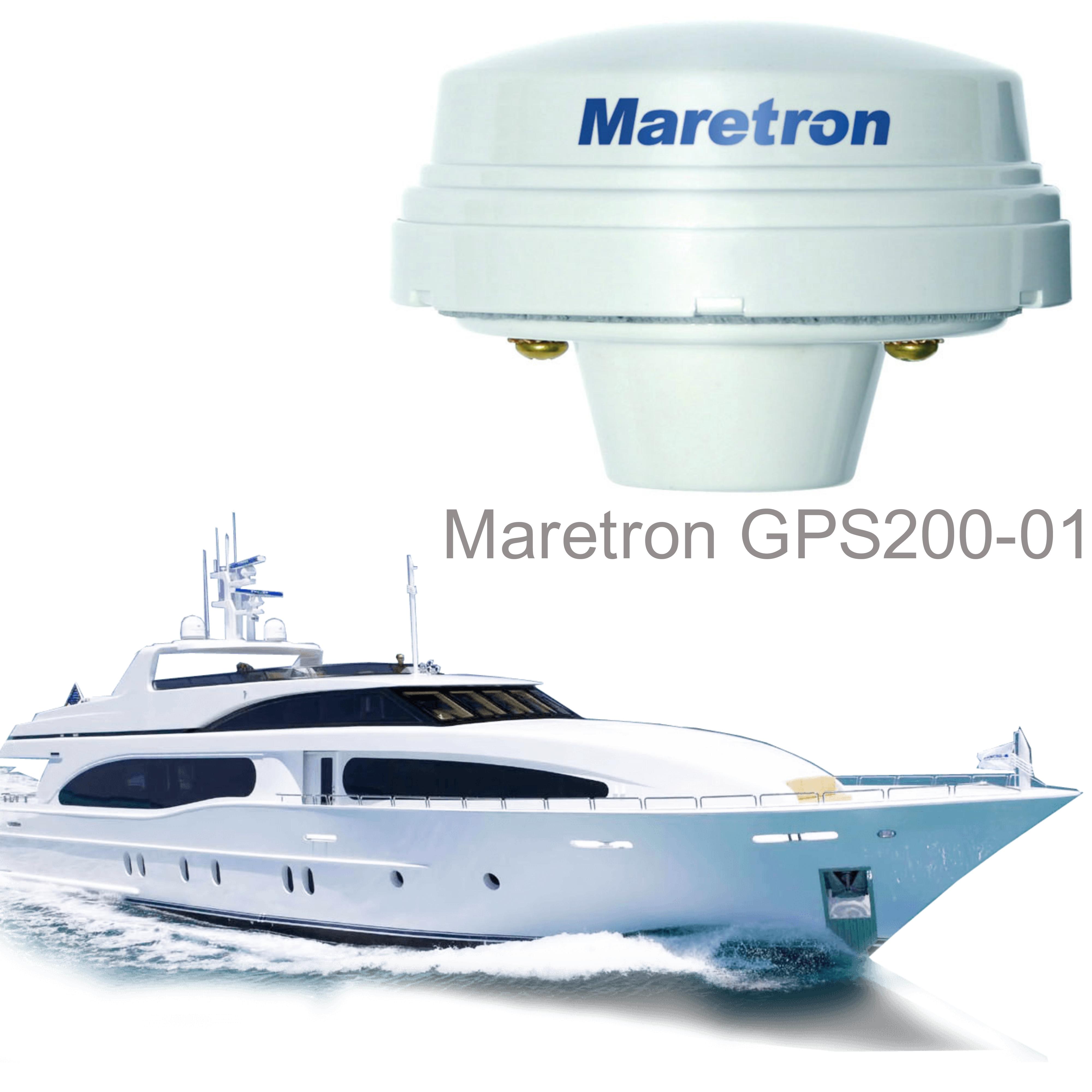 Maretron-GPS200-01|GPS Antenna/Receiver|NMEA  2000|Navigation-AIS|WAAS/MSAS|For Marine