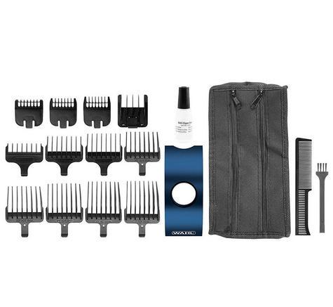 Wahl WL80801S?Men's Hair Multi Groomer Kit?Rechargable Stainless Steel Trimmer  Thumbnail 3