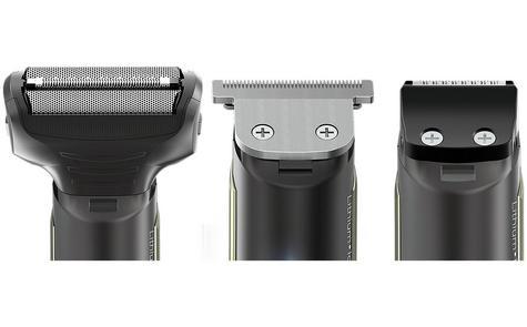 Wahl 99848S Lithium Blitz Mens 3 in 1 Facial Beard Trimmer?Cordless Shaver?Black Thumbnail 5