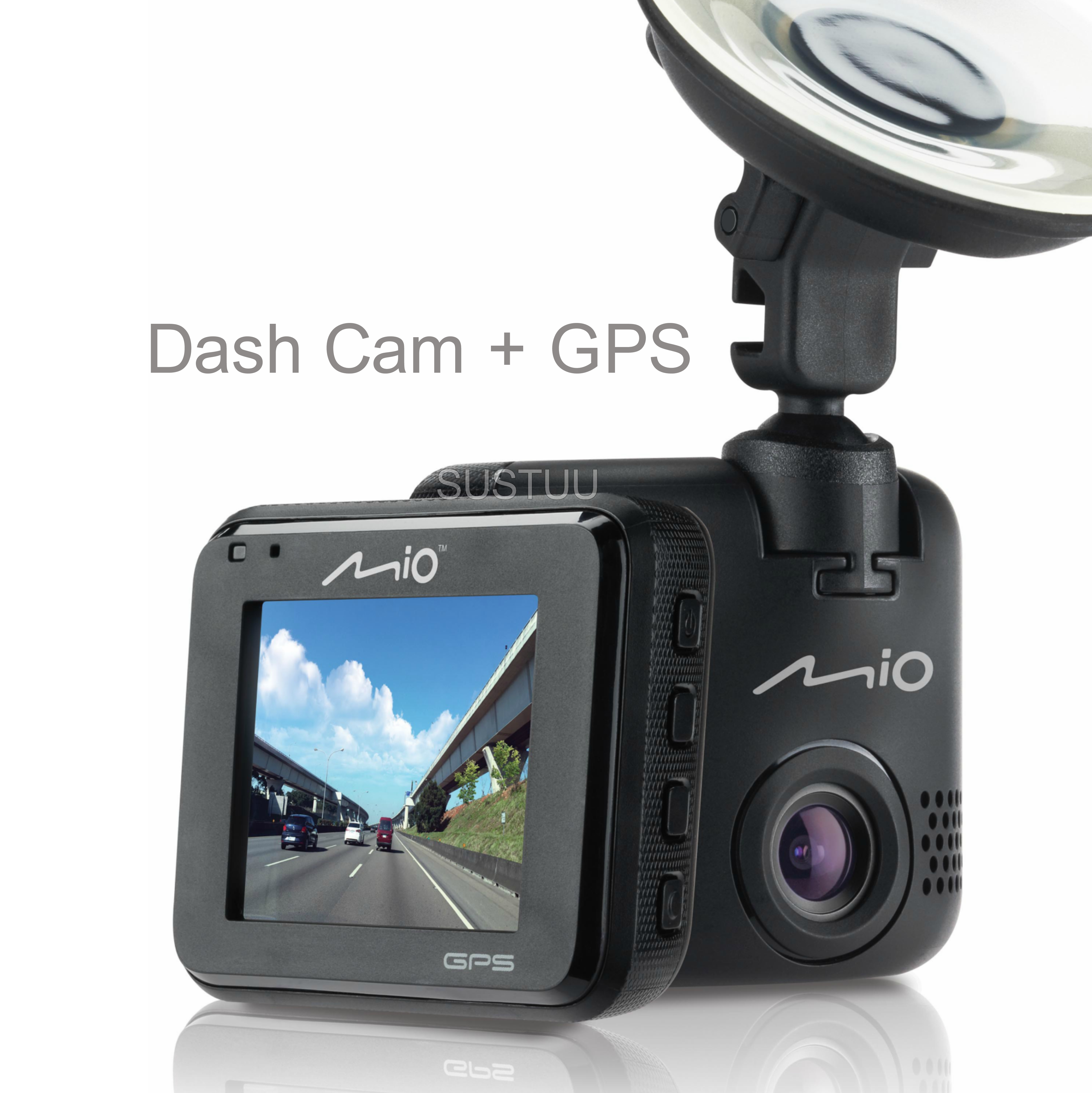 Mio MiVue C330|Full HD Dash Camera+Integrated GPS|Accident Recorder|SafetyCamera