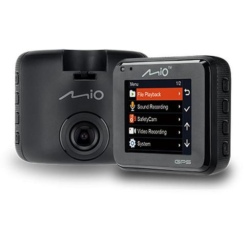 Mio MiVue C330|Full HD Dash Camera+Integrated GPS|Accident Recorder|SafetyCamera Thumbnail 2