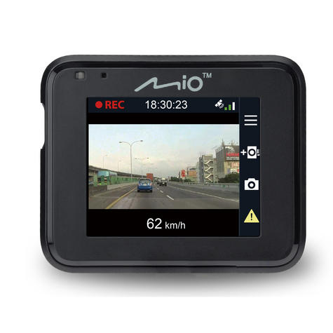 Mio MiVue C330|Full HD Dash Camera+Integrated GPS|Accident Recorder|SafetyCamera Thumbnail 6