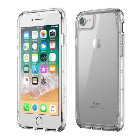 Griffin TA43828 Survivor Militry Clear Case Cover?iPhone?8?7?6?Drop Protected? Thumbnail 2