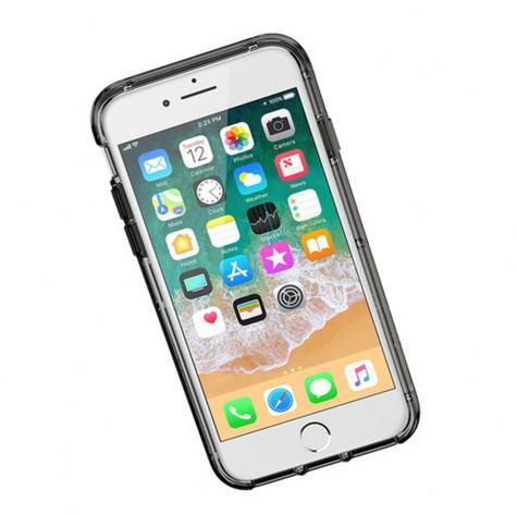 Griffin Survivor Clear Case for iPhone8 Plus, 7 Plus, 6 Plus - Black/Smoke/Clear Thumbnail 2