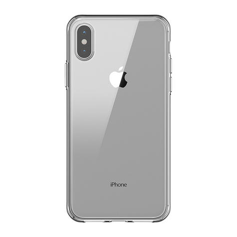 Griffin Reveal PolyCarbonate & TPU Case Cover / Slim / Hybrid / iPhone X - Clear  Thumbnail 3