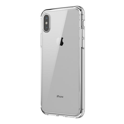 Griffin Reveal PolyCarbonate & TPU Case Cover / Slim / Hybrid / iPhone X - Clear  Thumbnail 4