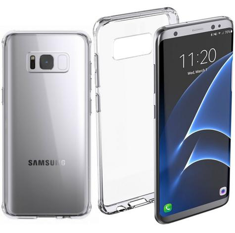 Griffin GB43425 Reveal Case Survivor Clear Case for Galaxy S8 - Clear Thumbnail 1