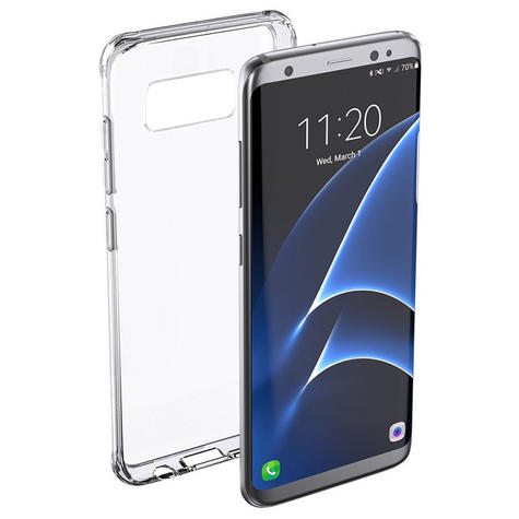 Griffin GB43425 Reveal Case Survivor Clear Case for Galaxy S8 - Clear Thumbnail 2
