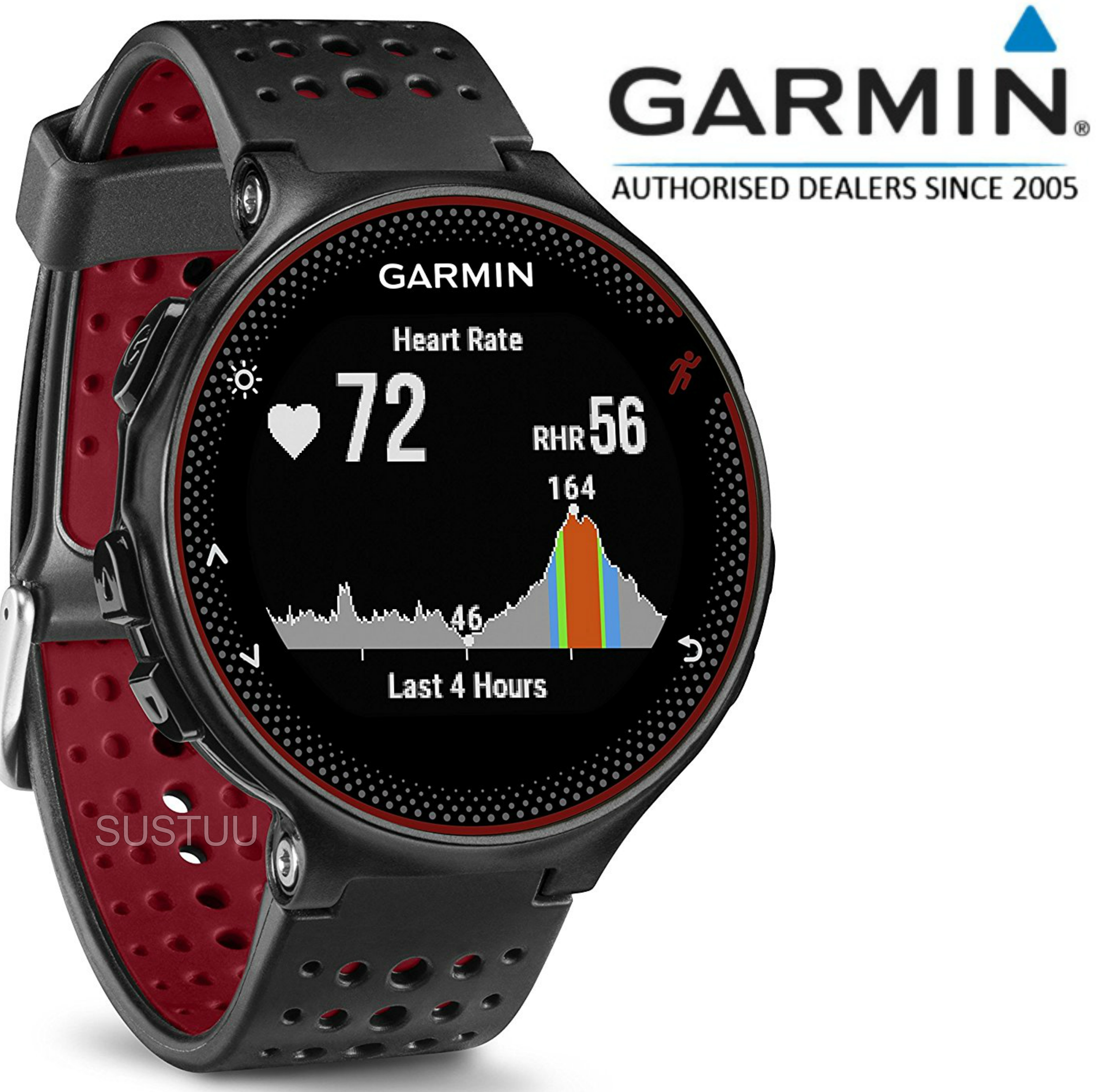 Garmin Forerunner 235|GPS Running Watch|Heart Rate Technology|Activity Tracker