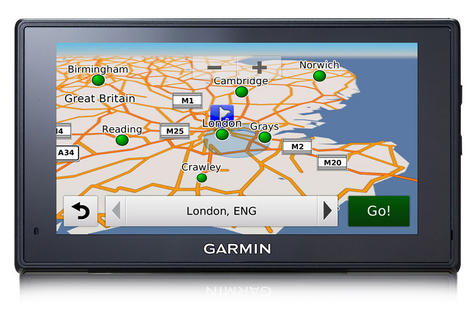"Garmin Fleet 670 Truck|6""GPS SatNav