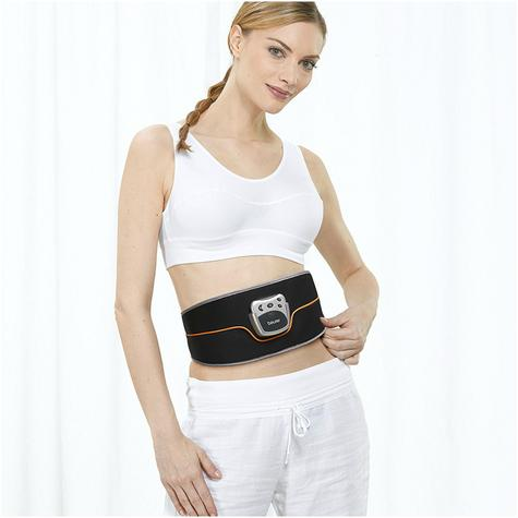 Beurer EM35 Abdominal Toning Slimming Belt|Unisex|LCD Display|Silver/Black| Thumbnail 3