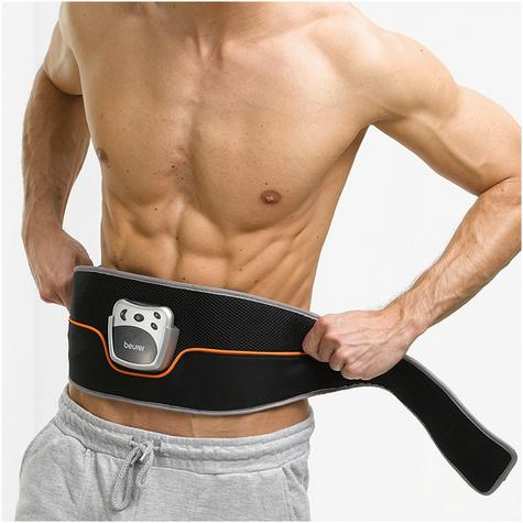 Beurer EM35 Abdominal Toning Slimming Belt|Unisex|LCD Display|Silver/Black| Thumbnail 4