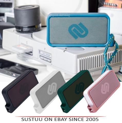 Urbanista Melbourne Bluetooth Pocket Speaker|IPX4 Resist|Black|White|Blue|Pink Thumbnail 1