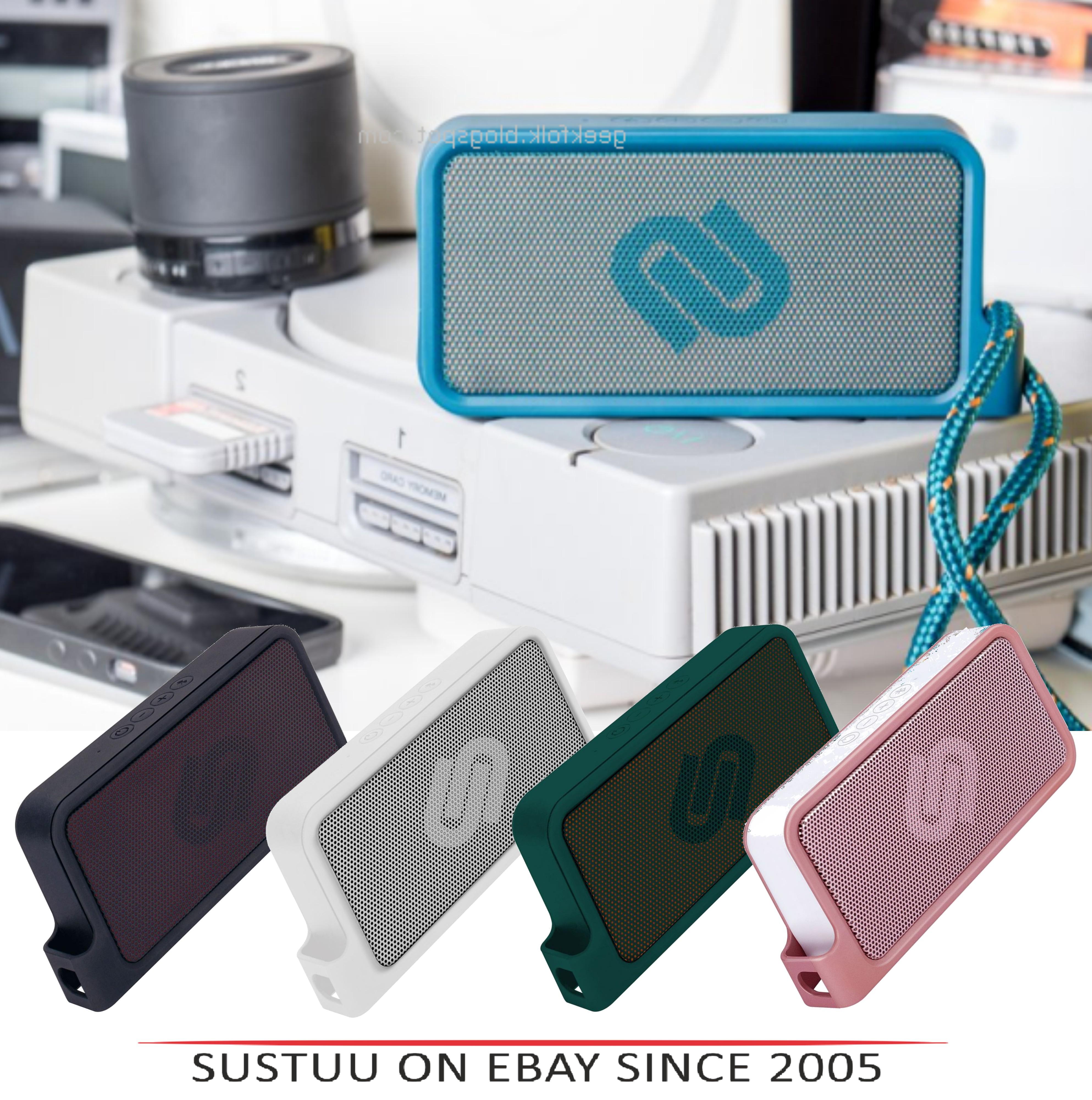 Urbanista Melbourne Bluetooth Pocket Speaker|IPX4 Resist|Black|White|Blue|Pink