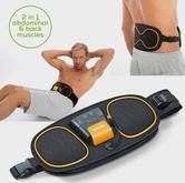 Beurer EM39 Abdominal & Back Muscle Flexibl Stomach Belt|4 Electrodes|LCD|New|