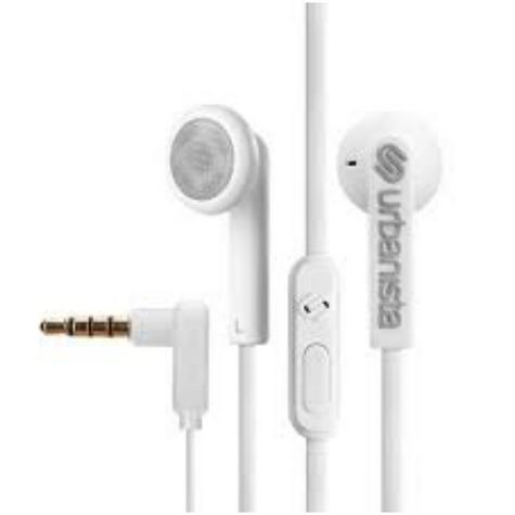 Urbanista Osla Earphone|Music|Call|Fit iOS Android Windows|Fluffy Cloud - White Thumbnail 2