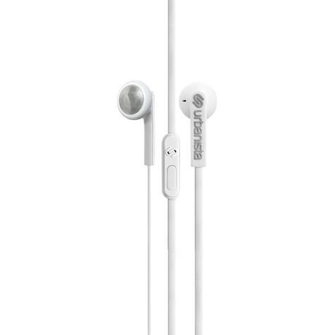 Urbanista Osla Earphone|Music|Call|Fit iOS Android Windows|Fluffy Cloud - White Thumbnail 1