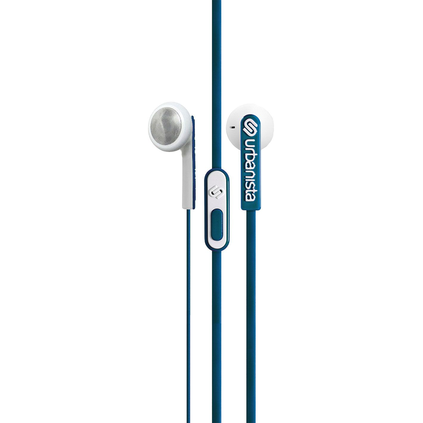 Urbanista Osla Earphone|Control Music|Call|Fit iOS Android Windows|Petral Blue