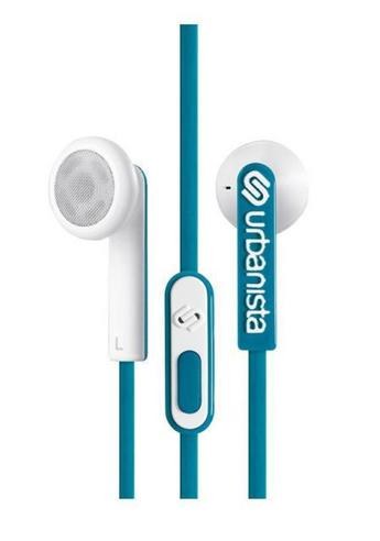 Urbanista Osla Earphone|Control Music|Call|Fit iOS Android Windows|Petral Blue Thumbnail 3