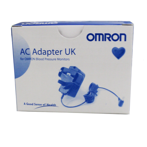 Omron 9983666-5 Positive Adaptor Mains AC for Blood Pressure Monitors Thumbnail 2