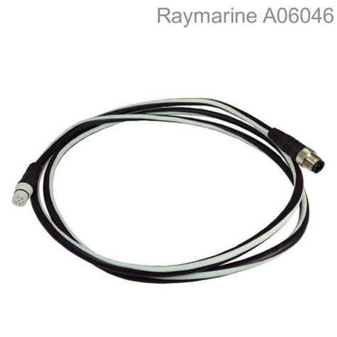 Raymarine-A06046|STNG Devicenet Adaptor Cable- 1.5m|Spur To N2K- Male|For E-C-G & ST70 System Thumbnail 1