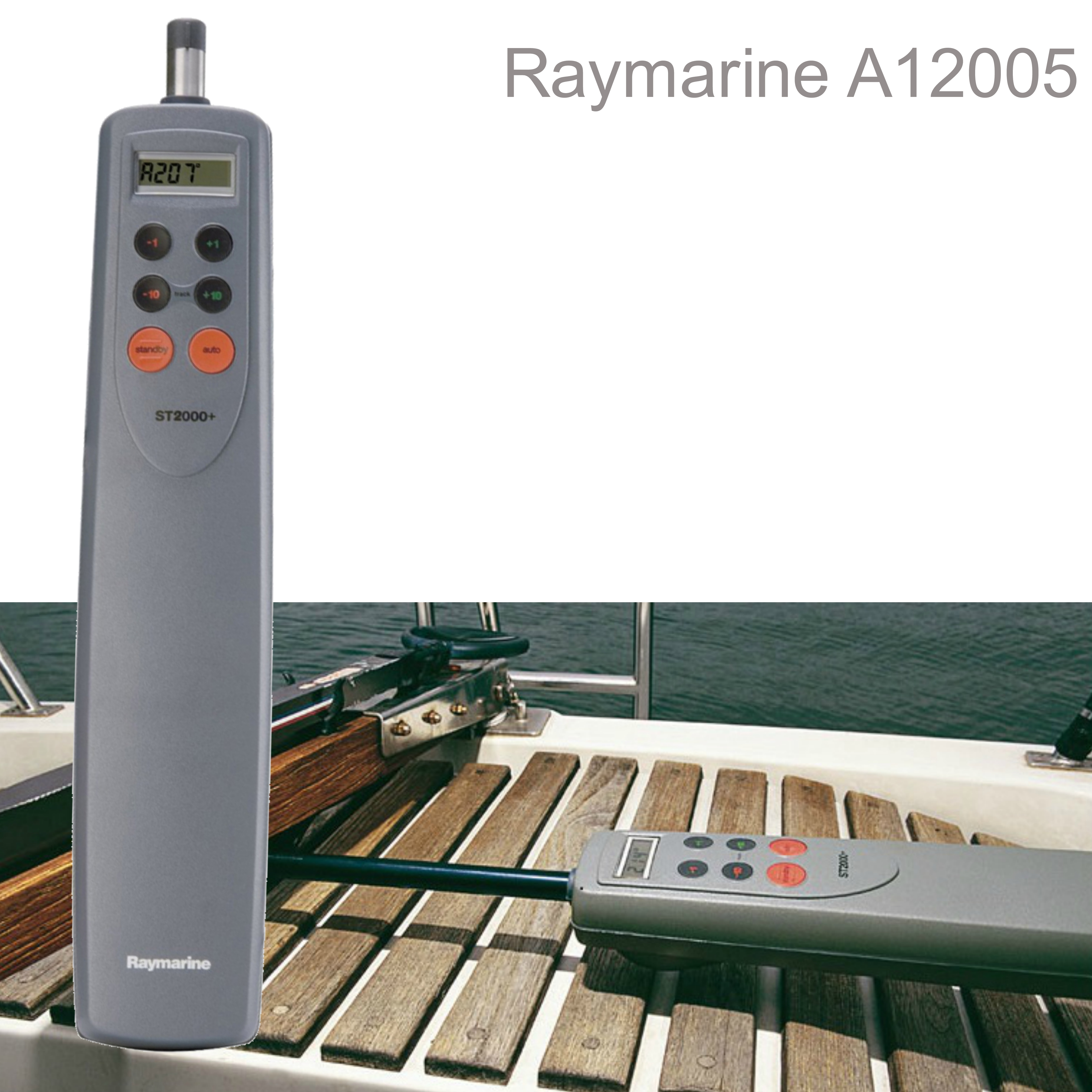Raymarine-A12005|ST2000+ Tiller/AutoPilots|45mm LCD|For Tiller Yachts & Boats