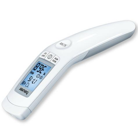 Beurer FT90 Non Contact Infrared Clinically Safe Thermometer|LCD|Fever Alarm| Thumbnail 3