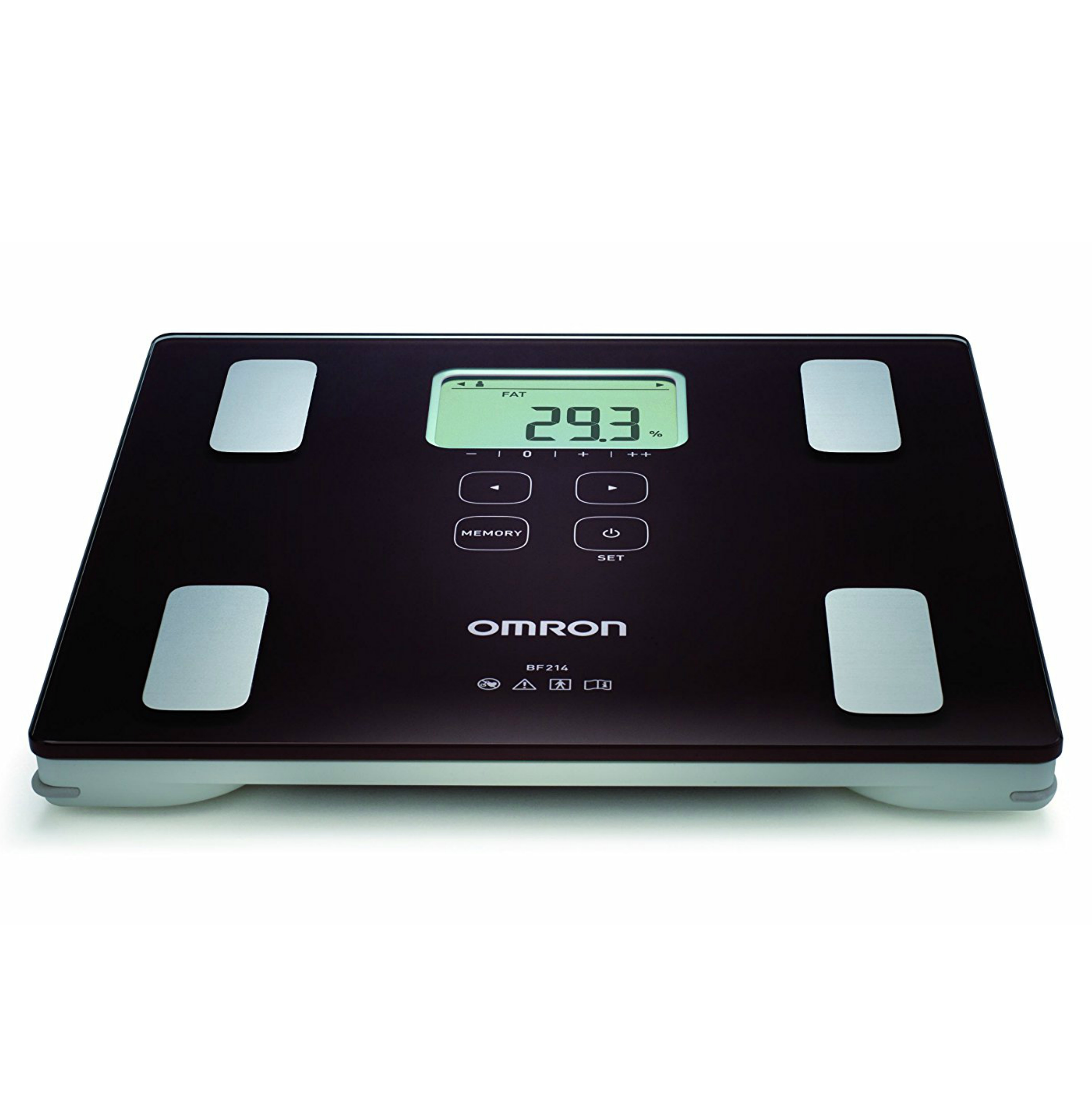 Omron BF214 Digital Body Composition Monitor Weight Scale | For BMI & Body Fat | NEW