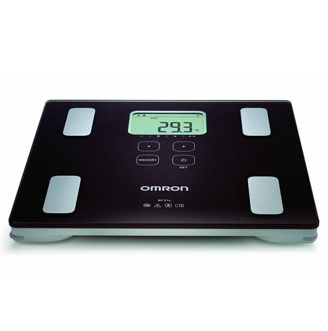 Omron BF214 Digital Body Composition Monitor Weight Scale | For BMI & Body Fat | NEW Thumbnail 1