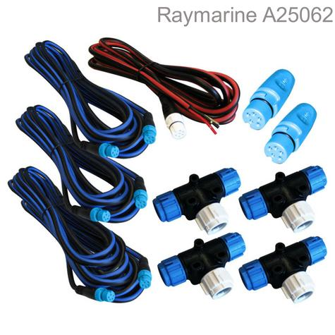 Raymarine-A25062|SeaTalk NG Backbone Kit|Colour-Coded Connector|Waterproof|Marine Thumbnail 1
