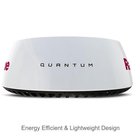 "Raymarine Q24C 18"" Quantum Radar with 10 m Power & Data Cable Black For Marine Thumbnail 2"