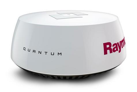 "Raymarine Q24C 18"" Quantum Radar with 10 m Power & Data Cable Black For Marine Thumbnail 3"