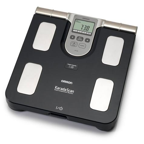 Omron BF508 Body Fat Composition Sensor Monitor BMI Home Bathroom Weighing Scale Thumbnail 1