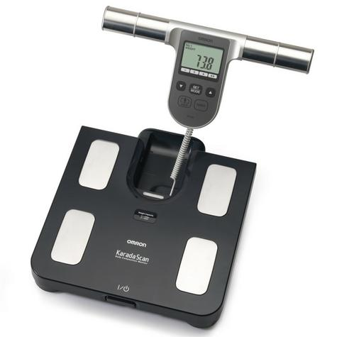 Omron BF508 Body Fat Composition Sensor Monitor BMI Home Bathroom Weighing Scale Thumbnail 2