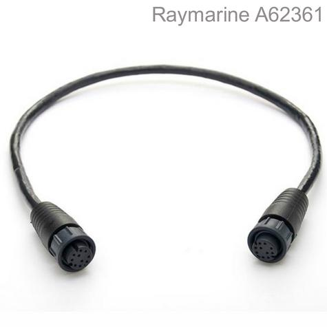 Raymarine-A62361|RayNet to RayNet Cable|2m|Female To Female|For Marine & Boats Thumbnail 1