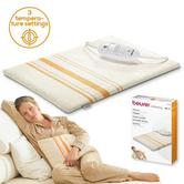 Beurer HK25 Entry Level Electric Heating Pad|3 Adjustable Heat Setting|Washable|