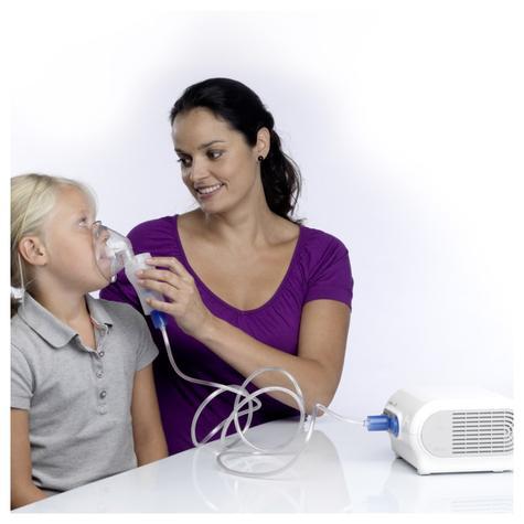 Omron NE-C28P CompAir Plus Compressor Aid Medicine VVT Nebuliser | Inhaler Mask | White Thumbnail 4